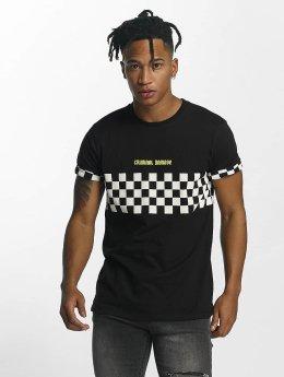 Criminal Damage Board T-Shirt Black/Multi