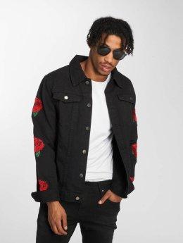 Criminal Damage Farkkutakit Rosa Jeans musta