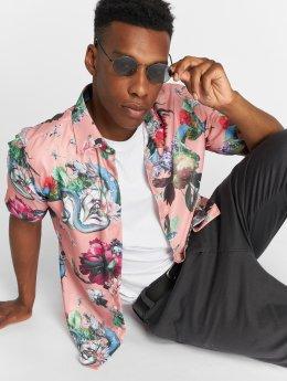 Criminal Damage Männer Hemd Dominic in pink