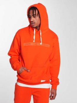 Criminal Damage Hoodie Hiber orange