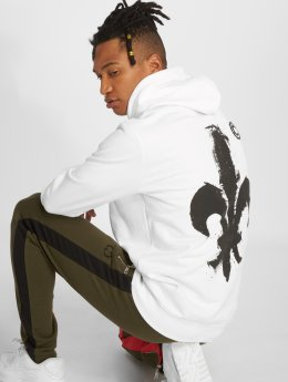 Criminal Damage Hoodie Token white
