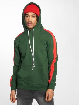 Criminal Damage Carnaby Hoody Olive/Red