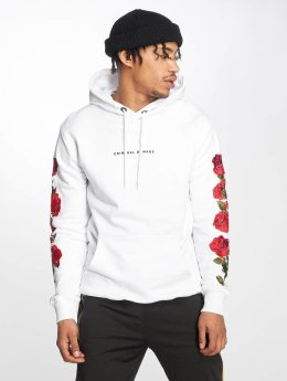 Criminal Damage Hoody Petal weiß