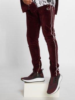 Criminal Damage Jogging kalhoty Rep červený