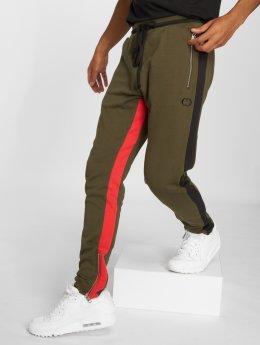 Criminal Damage Jogging kalhoty Roman  olivový