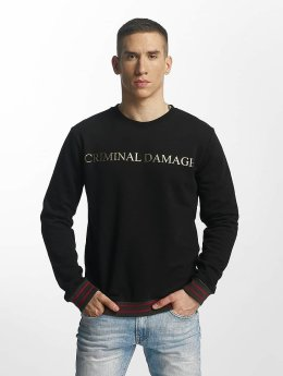 Criminal Damage Aldo Sweatshirt Black/Golden