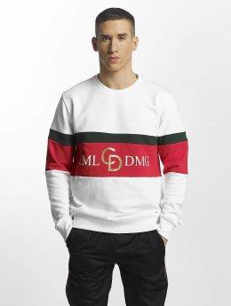 Criminal Damage Pullover Dolfo Logo weiß