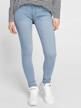 Criminal Damage Skinny Jeans Bella blau