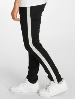 Criminal Damage Skinny Jeans Tape czarny