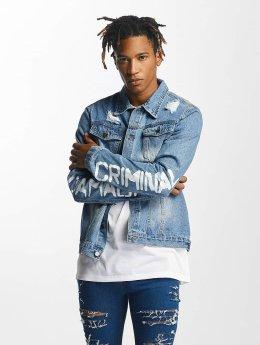 Criminal Damage Spijkerjasjes Shacklewell blauw
