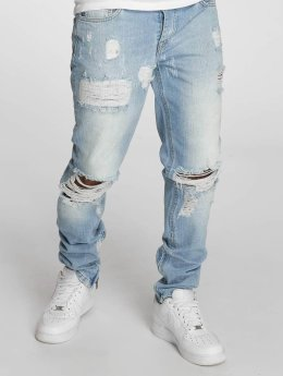 Criminal Damage Straight fit jeans Carter blauw