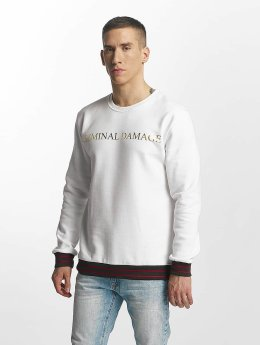 Criminal Damage Aldo Sweatshirt White/Golden