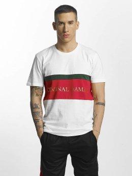 Criminal Damage t-shirt Dolfo wit
