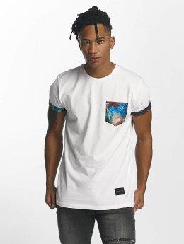 Criminal Damage Meadow Pocket T-Shirt White/Multi