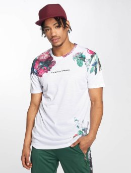 Criminal Damage T-shirts Siena hvid