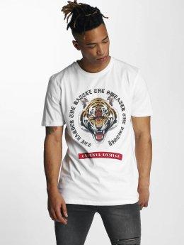 Criminal Damage T-Shirty Battle bialy