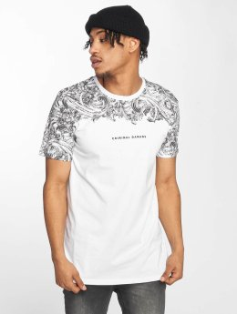 Criminal Damage T-Shirty Fresco bialy