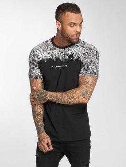 Criminal Damage T-Shirty Fresco czarny