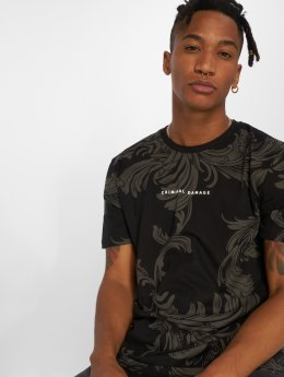 Criminal Damage T-skjorter Henny svart
