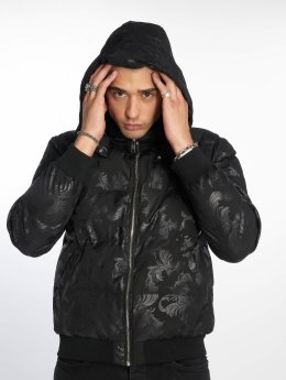 Criminal Damage Winterjacke Baroque schwarz