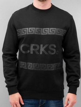 Crooks & Castles Pullover Dignified  schwarz