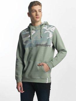 Cyprime Bluzy z kapturem Argon zielony