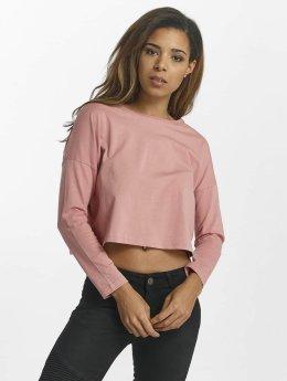 Cyprime Maglietta a manica lunga Actinium  rosa chiaro