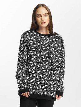 Cyprime Pullover Tantalum Oversized schwarz
