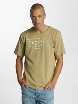 Cyprime T-shirts Cerium  beige