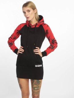 Dangerous DNGRS Šaty Health červený
