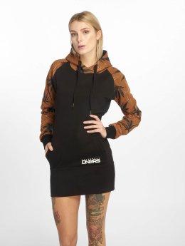 Dangerous DNGRS Šaty Health hnědý
