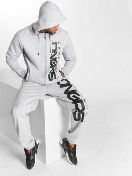 Dangerous DNGRS Classic Sweat Suit Grey Melange