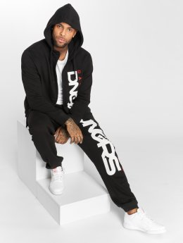 Dangerous DNGRS Classic Sweat Suit Black/Red