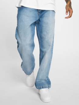 Dangerous DNGRS / Baggy jeans Drawstring in blauw