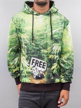 Dangerous DNGRS Bluzy z kapturem Free zielony