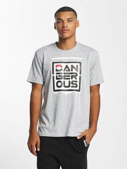 Dangerous DNGRS Camiseta Alif  gris