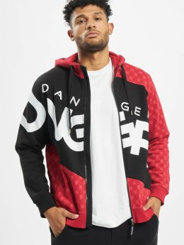 Dangerous DNGRS Hoodies con zip Big Logo nero