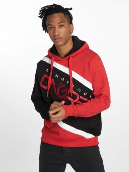 Dangerous DNGRS Hoodies Woody rød