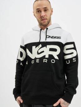 Dangerous DNGRS Männer Hoody Gino in schwarz