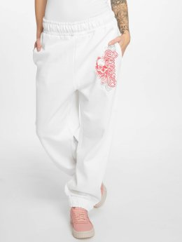 Dangerous DNGRS joggingbroek Flower wit