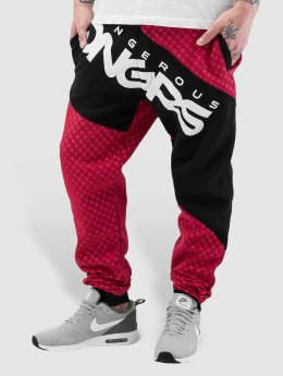 Dangerous DNGRS Toco Sweatpants Red/Black