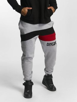 Dangerous DNGRS Jogginghose Cutter grau