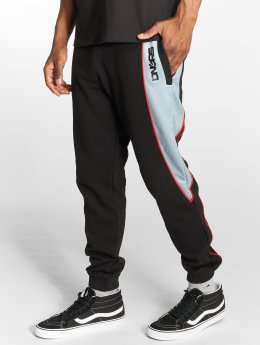 Dangerous DNGRS Thron Sweatpants Black Red