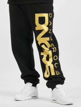 Dangerous DNGRS Classic Sweatpants Black/Golden