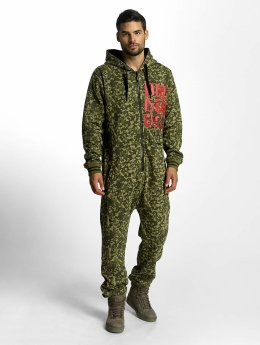 Dangerous DNGRS Jumpsuit Floot camouflage