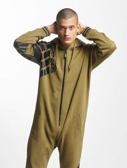 Dangerous DNGRS Jumpsuit Statement olive