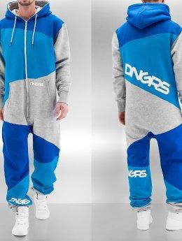 Dangerous DNGRS Jumpsuits 3-Tone šedá