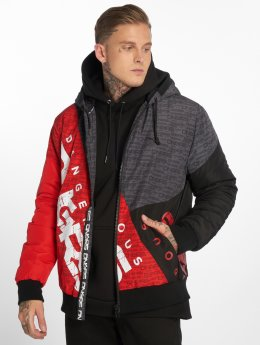 Dangerous DNGRS Manteau hiver DNGRS Tower rouge