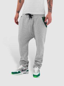 Dangerous DNGRS Pantalone ginnico Weed grigio