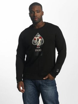 Dangerous DNGRS Pullover Race City Pikwire black